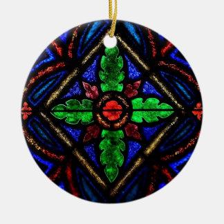 汚れのガラスクリスマスのオーナメント セラミックオーナメント
