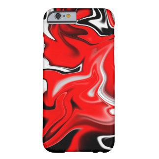 汚れる赤 iPhone 6 ベアリーゼアケース