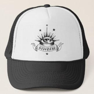 汚名の古い学校の帽子 キャップ