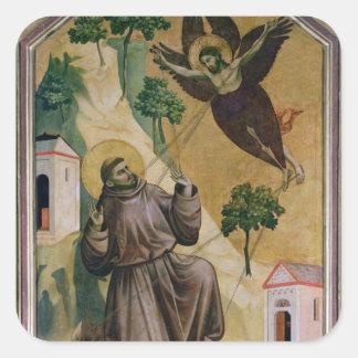 汚名、c.1295-1300を受け取るSt Francis スクエアシール