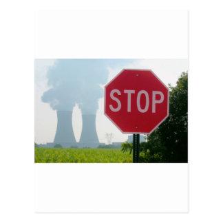 汚染をストップ ポストカード