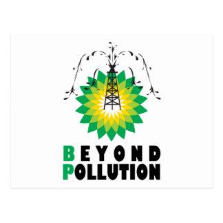 汚染を越えるBP ポストカード