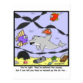 汚染 ポストカード