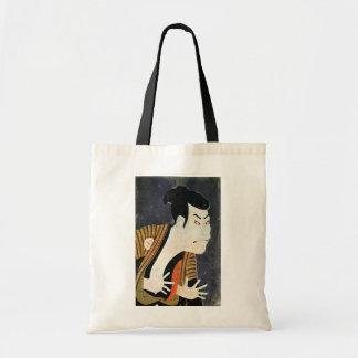江戸の歌舞伎役者、Sharaku、写楽の江戸Kabuki俳優 トートバッグ