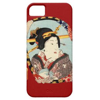 江戸の歌舞伎役者、Toyokuni、Ukiyo-e、豊国の江戸Kabuki俳優 iPhone 5 カバー