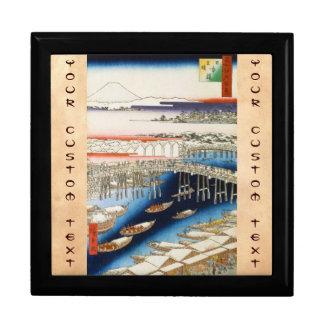 江戸Ando Hiroshigeの百の有名な眺め ギフトボックス
