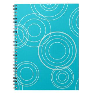 池のさざ波のノート ノートブック