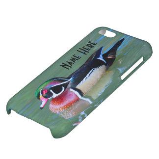 池のオスのアメリカオシを個人化して下さい iPhone5C カバー