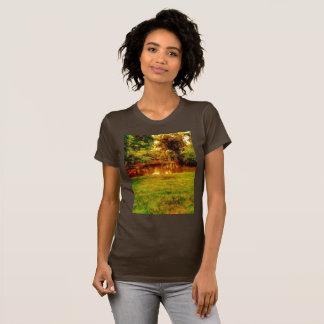 池のジャングル Tシャツ