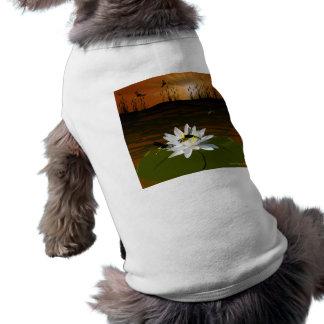 池のトンボ ペット服