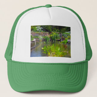 池のパウエルの庭、カンザスシティの水生植物 キャップ