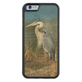 池の素晴らしい青鷲の鳥 CarvedメープルiPhone 6バンパーケース