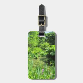 池、リッチモンドによるアイリス公園の写真の荷物のラベル ラゲッジタグ