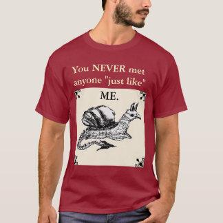 決してだれでも会われる私を好まないで下さい Tシャツ