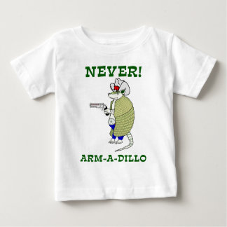 決してアルマジロ ベビーTシャツ