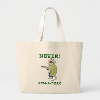 決してアルマジロ ラージトートバッグ