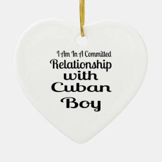 決してキューバのお父さんを過少見積りしないで下さい セラミックオーナメント