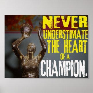 決してチャンピオンのハートを過少見積りしないで下さい ポスター