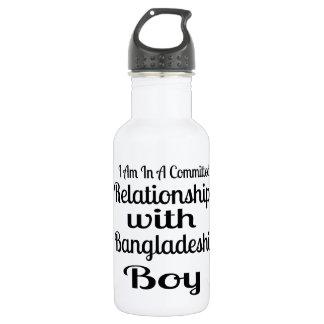 決してパングラデシュのお父さんを過少見積りしないで下さい ウォーターボトル