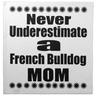 決してフレンチ・ブルドッグのお母さんを過少見積りしないで下さい ナプキンクロス