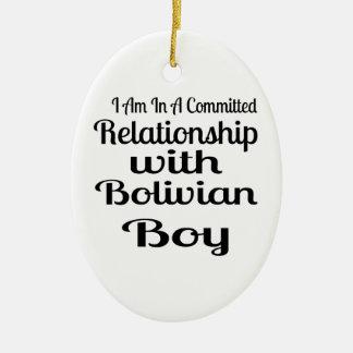 決してボリビアのお父さんを過少見積りしないで下さい セラミックオーナメント