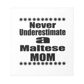 決してマルタのお母さんを過少見積りしないで下さい ノートパッド