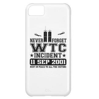 決して世界貿易センター2001年9月11日忘れないで下さい iPhone5Cケース