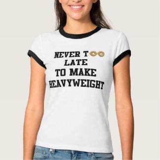決して余りに遅く厚地のTシャツを作るため Tシャツ