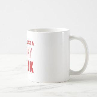 決して信頼細調理師AKZ BROWN.png コーヒーマグカップ