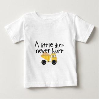 決して傷つく少し土! ベビーTシャツ