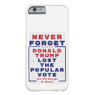 決して切札を失った投票を忘れないで下さい BARELY THERE iPhone 6 ケース