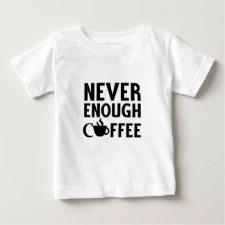 決して十分なコーヒー ベビーTシャツ