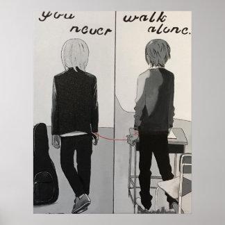 決して単独で歩きません ポスター