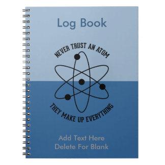 決して原子を信頼しないで下さい ノートブック