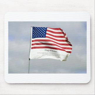 決して名誉の9/11旗を忘れないで下さい マウスパッド