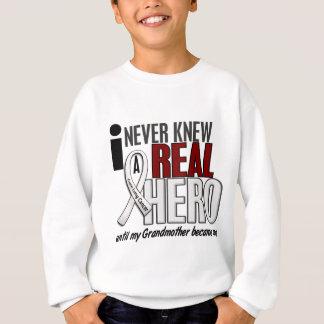 決して実質の英雄2の祖母の肺癌を知っていませんでした スウェットシャツ