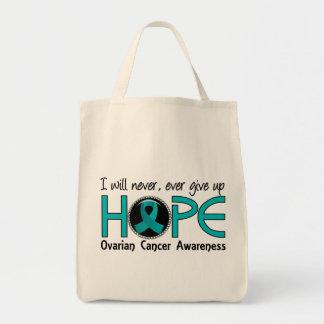 決して希望5の卵巣癌をあきらめないで下さい トートバッグ
