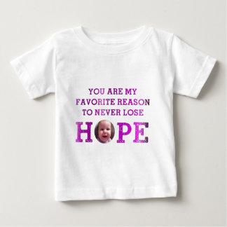 決して希望-ハープ奏者--を失わないで下さい ベビーTシャツ