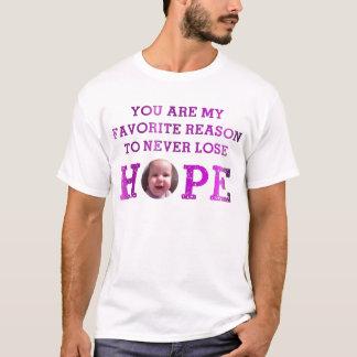 決して希望-ハープ奏者--を失わないで下さい Tシャツ