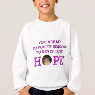 決して希望- Aubrey --を失わないで下さい スウェットシャツ