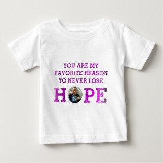 決して希望- Audrey --を失わないで下さい ベビーTシャツ