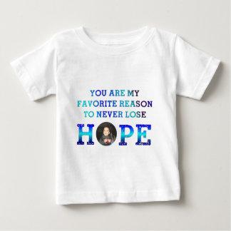 決して希望- Caiden --を失わないで下さい ベビーTシャツ