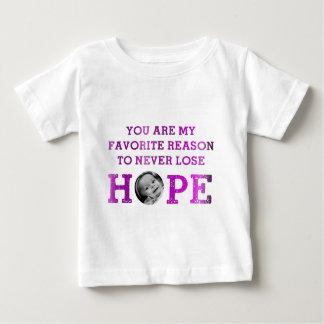 決して希望- Mckenna --を失わないで下さい ベビーTシャツ