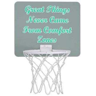決して心地よい地帯の引用文から来られる素晴らしい事 ミニバスケットボールゴール