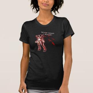 決して悪党を信頼しないで下さい! Tシャツ