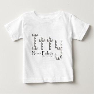 決して慈善Faileth ベビーTシャツ