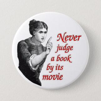 決して映画によって本を判断しないで下さい 缶バッジ