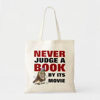 決して映画愛書家の引用文によって本を判断しないで下さい トートバッグ