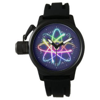 決して時間|おもしろいな科学のギフトで信頼しないで下さい 腕時計