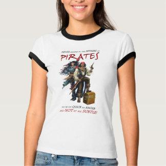 決して海賊と干渉しないで下さい Tシャツ